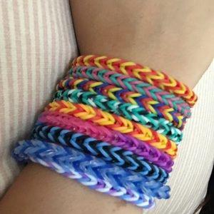 Jewelry - Rainbow loom bracelets
